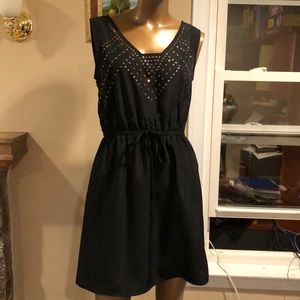 Bebop elastic waist dress size large
